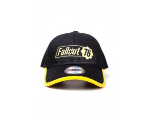 Fallout 76 - Yellow Logo Cappellino Regolabile Difuzed