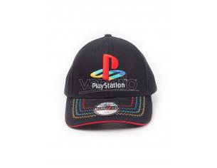 Playstation Cappellino Retro Con Logo Regolabile Difuzed