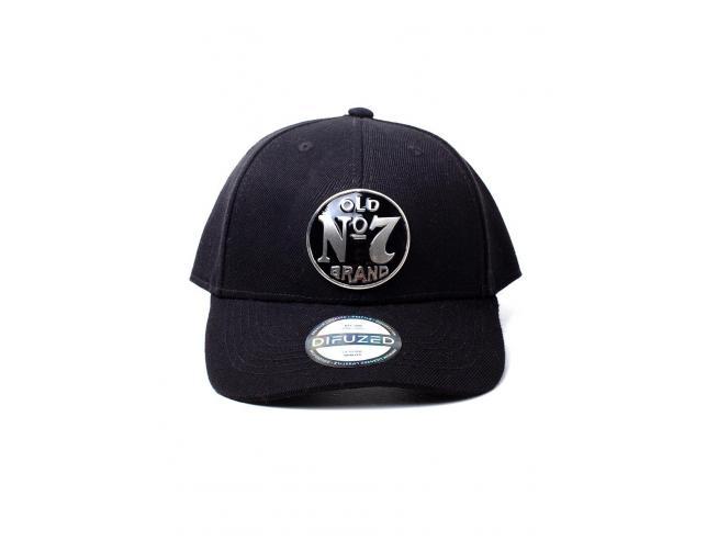 Jack Daniel's - No. 7 Logo Metal Badge Cappellino Regolabile Difuzed