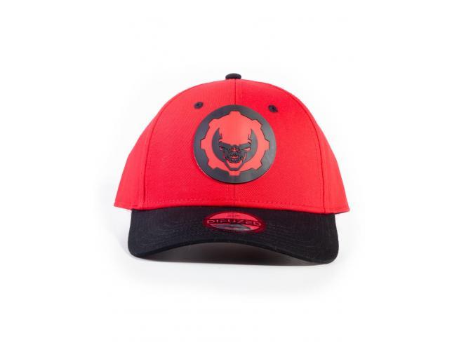 Gears Of War 5 - Hydro Red Omen Cappellino Regolabile Difuzed