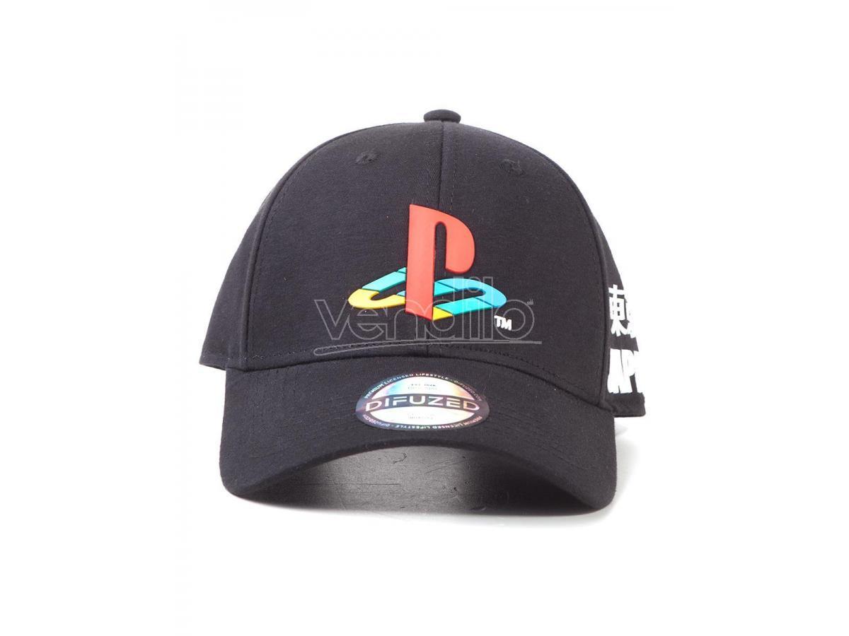 Sony Playstation Cappellino Regolabile Curvo Difuzed