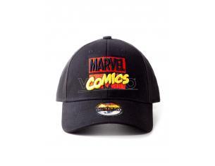 Marvel Comics Cappellino Regolabile Ricamo Con Logo Difuzed