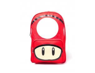 Nintendo - Mushroom Placed Print Zaino Difuzed