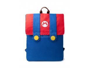 Super Mario Zaino In Denim Colore Blu Difuzed