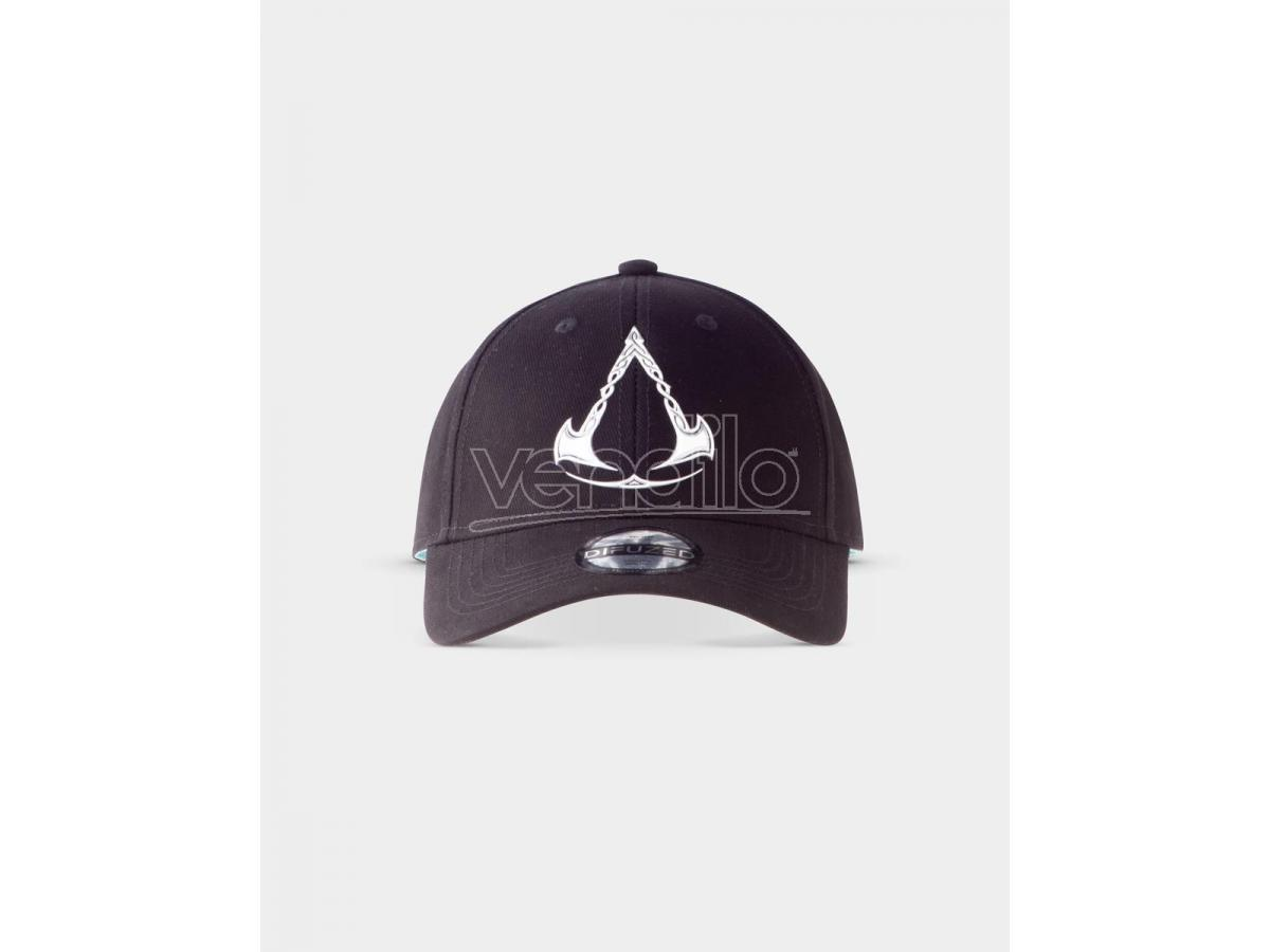 Assassin's Creed Valhalla Cappellino Da Beaseball Simbolo Metal Difuzed