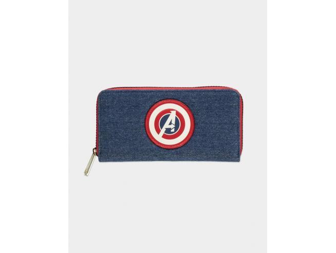 Marvel - Avengers Portafoglio Con Cerniera Difuzed