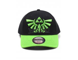 Zelda - Hyrule Crest Logo Berretto Curvo Difuzed