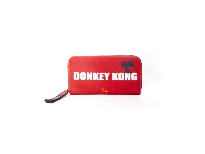 Nintendo - Donkey Kong Portafoglio Con Cerniera Donna Difuzed