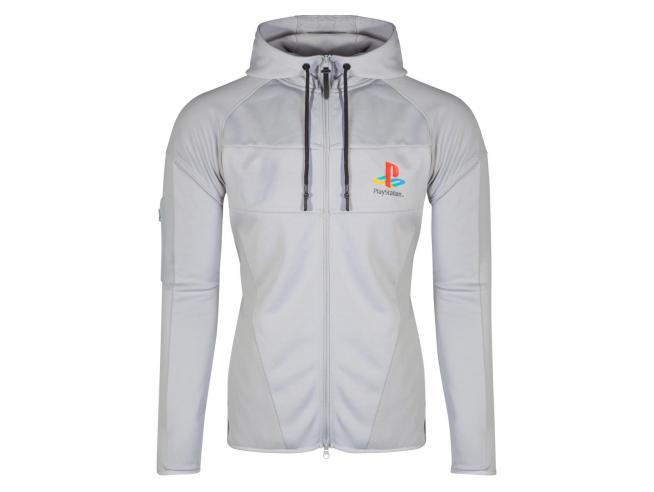 Playstation - Ps One Technical Men's Felpa Con Cappuccio Difuzed