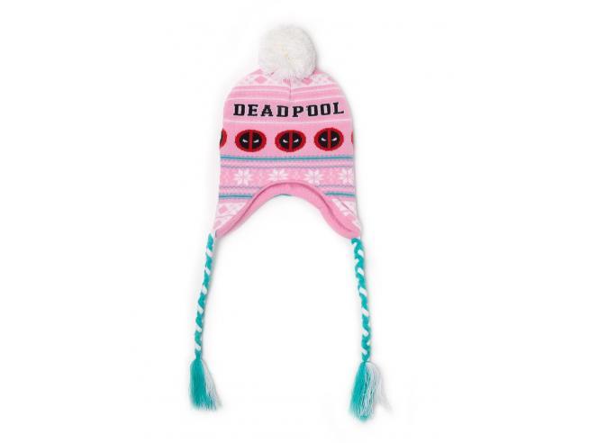 Deadpool - Pink Sherpa Berretto Difuzed