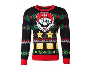 Nintendo - Super Mario Knitted Unisex Jumper Difuzed