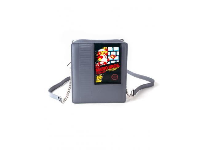 Nintendo - Super Mario Bros Cartridge Lady Cross Body Bag Difuzed