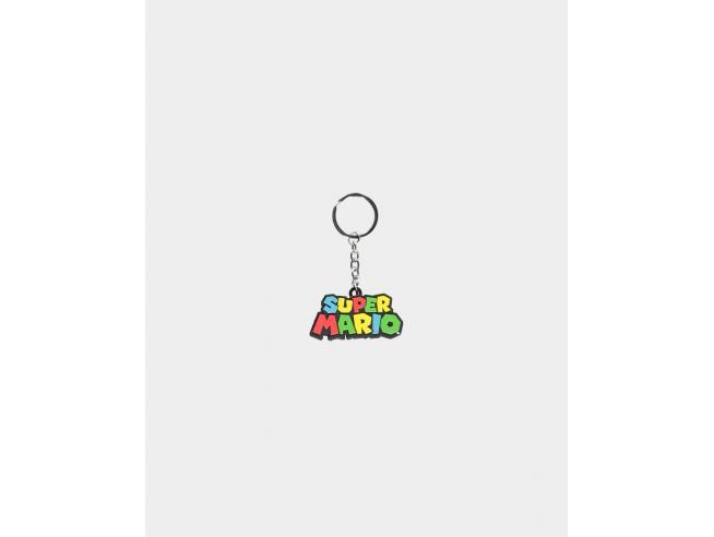 Nintendo - Super Mario Logo 3d Portachiavi Difuzed