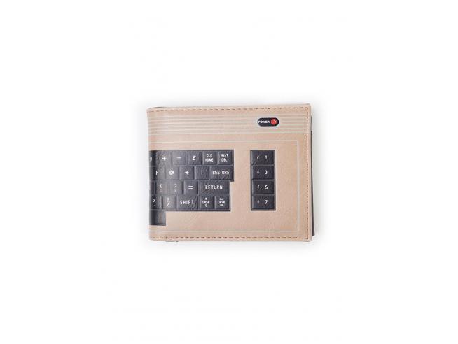 The C64 - C64 Keyboard Portafoglio Pieghevole Difuzed