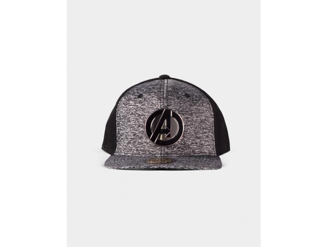 Marvel - Metal Avengers Logo Cappellino Snapback Difuzed