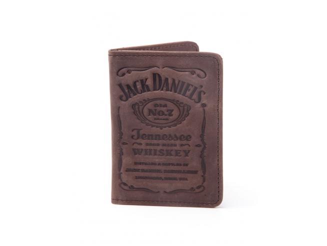 Jack Daniel's - Debossed Logo Men's Card Portafoglio Difuzed