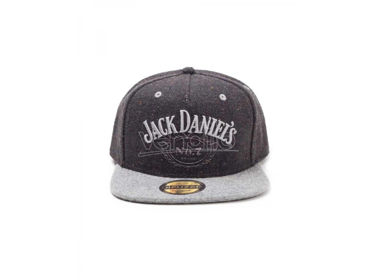 Jack Daniel's - Black Logo Cappellino Snapback Difuzed
