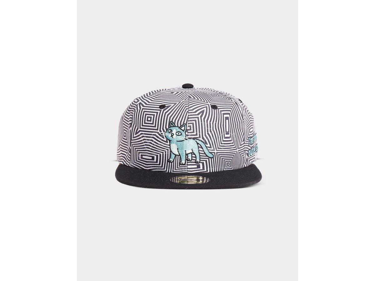 Rick & Morty - Cat Outer Space Cappellino Snapback Difuzed
