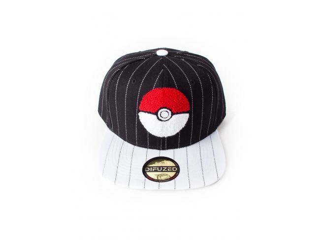 Pokémon - Pokéball Varsity Cappellino Snapback Difuzed