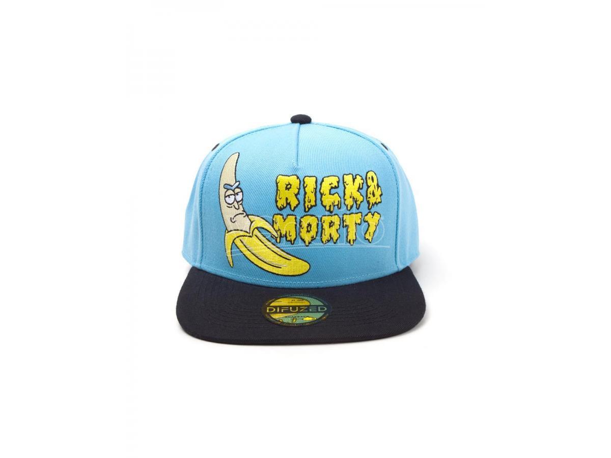 Rick E Morty - Banana Cappellino Snapback Difuzed