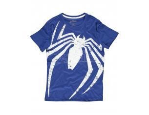 Spider-Man - Acid Wash Spider T-shirt Difuzed