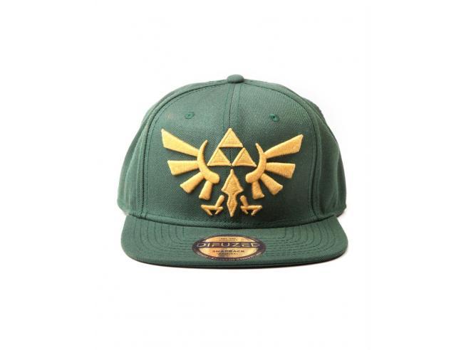 Zelda - Twilight Princess, Cappellino Snapback Con Golden Triforce Logo Difuzed