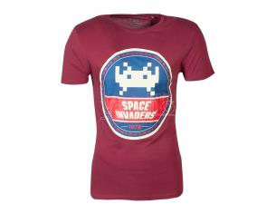 Space Invaders - Round Invader T-shirt Uomo Difuzed