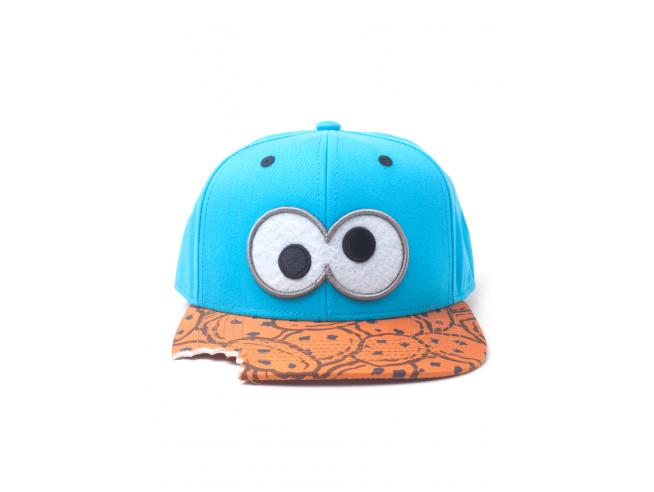 Sesame Street - Cookie Bite Cappellino Snapback Difuzed