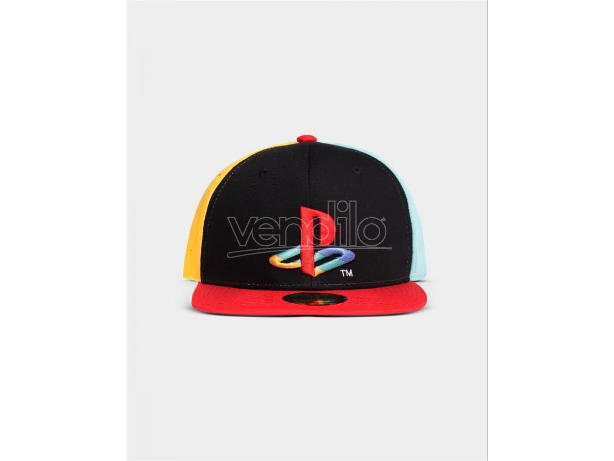 Playstation - Cappellino Snapback Con Original Logo Colors Difuzed