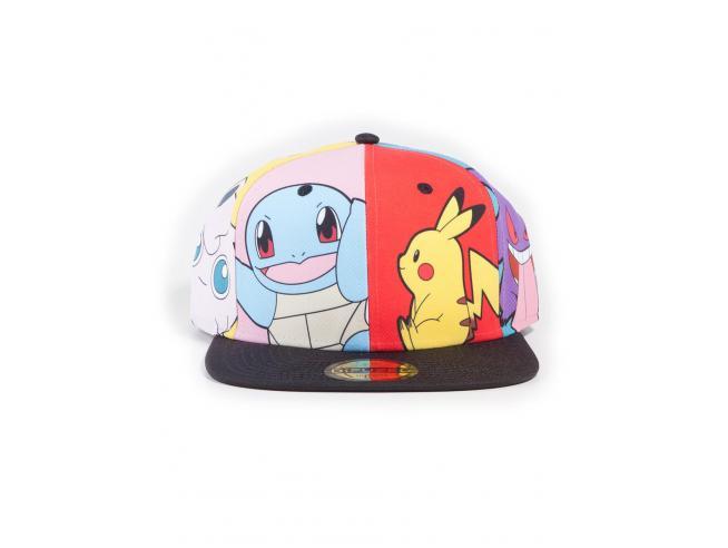 Pokémon -  Multi Pop Art Cappellino Snapback Difuzed