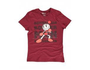 Konami - Bomberman Tonal Bomb T-shirt Uomo Difuzed