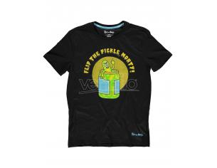 Rick & Morty - Flip The Pickle T-shirt Uomo Difuzed