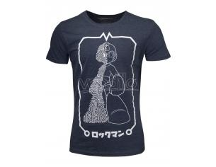 Mega Man - Circuit Board Megaman T-shirt Uomo Difuzed