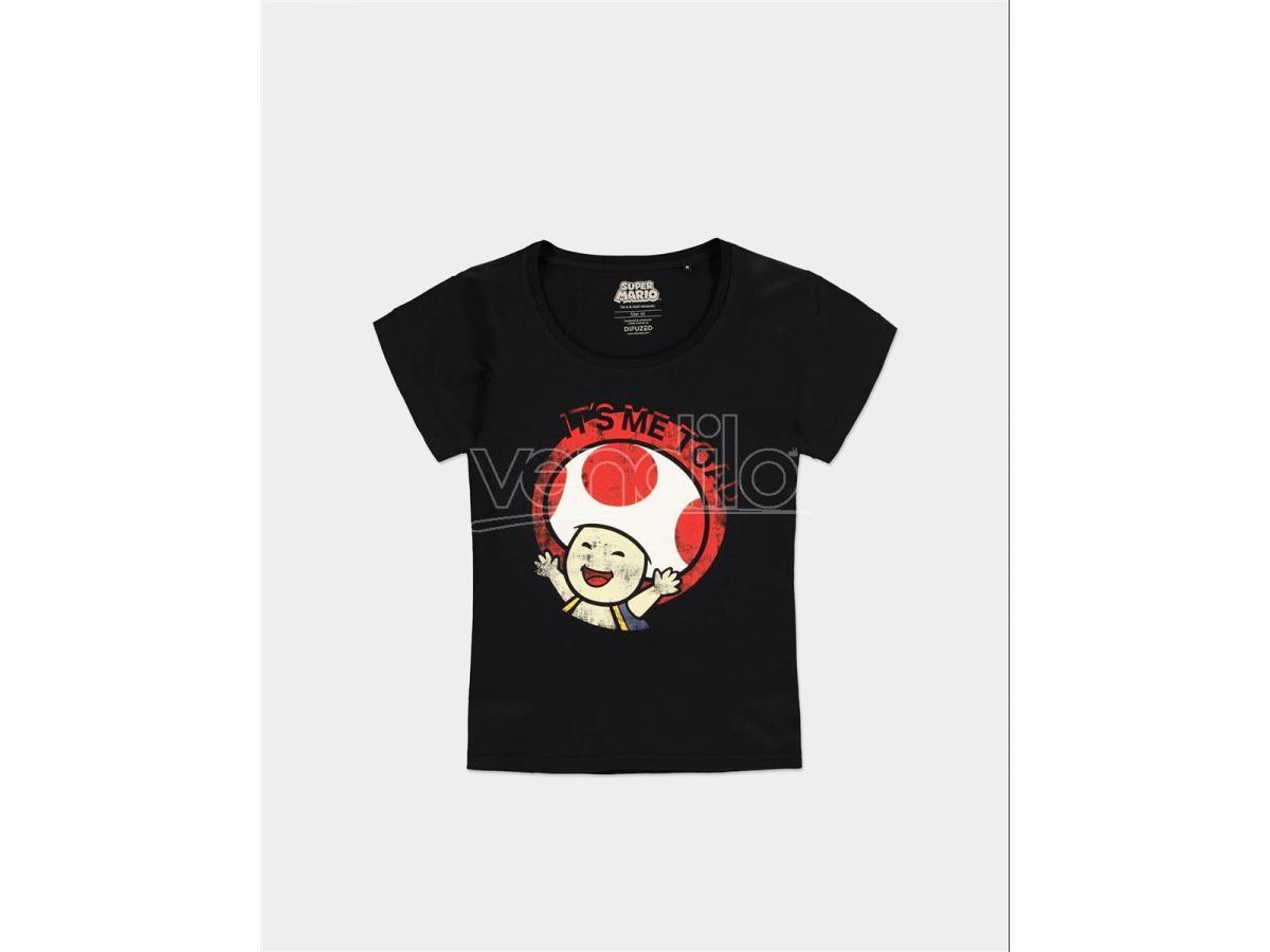 Nintendo - Super Mario - Toad T-shirt Donna Difuzed