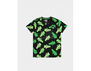 Nintendo - Super Mario Yoshi Aop T-shirt Uomo Difuzed