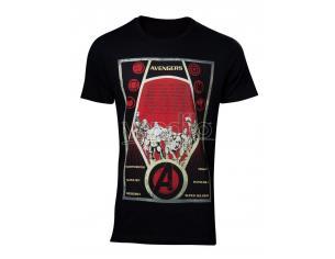 Avengers - Constructivism Poster T-shirt Uomo Difuzed