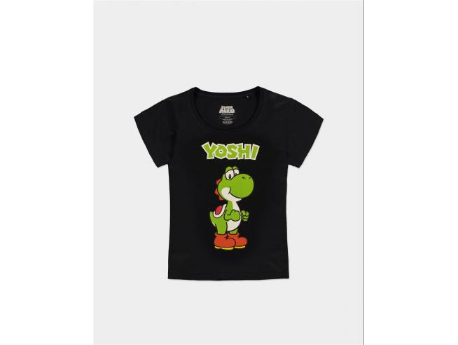Nintendo - Super Mario - Yoshi T-shirt Donna Difuzed
