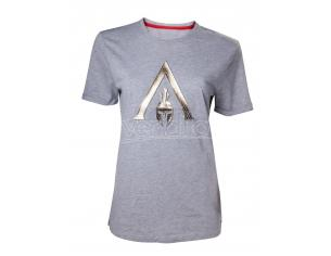 Assassin's Creed Odyssey - Embossed Logo T-shirt Donna Difuzed