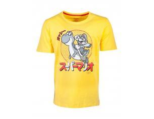 Nintendo - Super Mario Yoshi T-shirt Uomo Difuzed