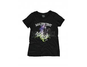 Disney - Maleficent - Gel Printed T-shirt Donna Difuzed
