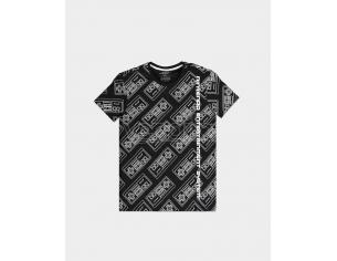 Nintendo - Nes Aop T-shirt Uomo Difuzed