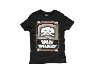 Space Invaders - Glowing Invader T-shirt Uomo Difuzed