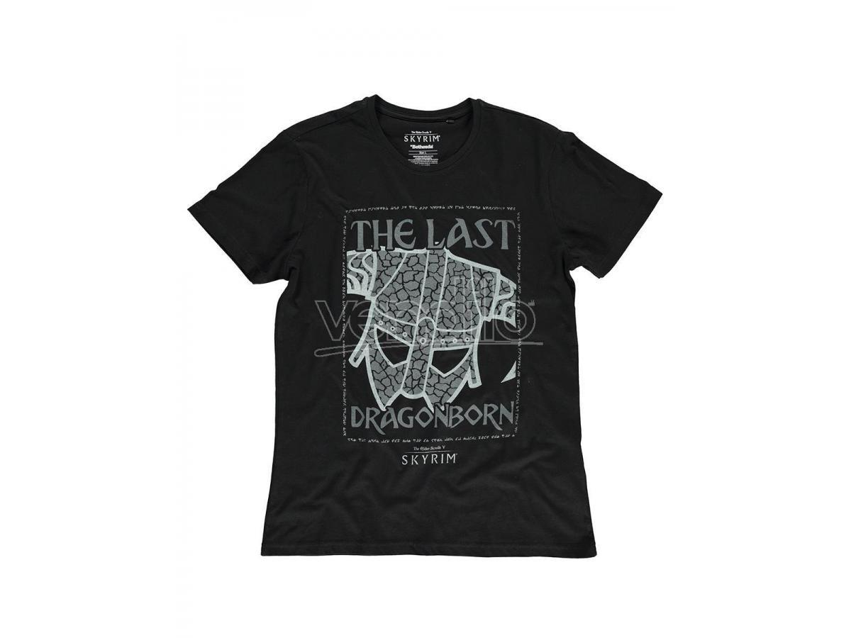 The Elder Scrolls - Last Dragonborn T-shirt Uomo Difuzed