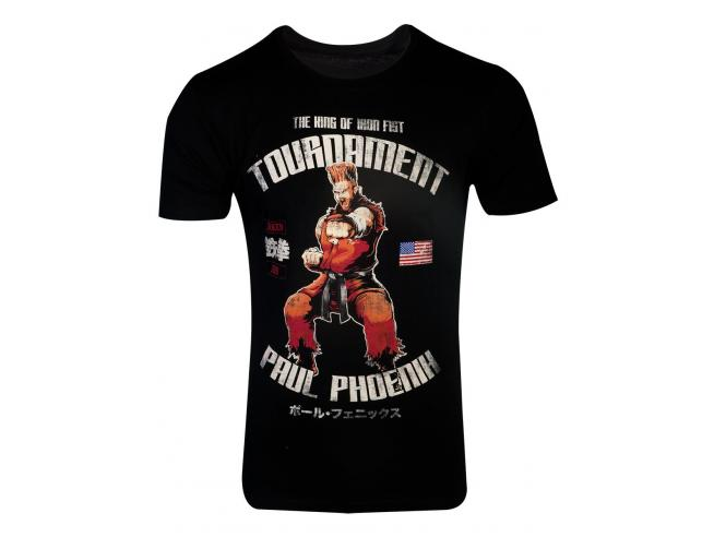Tekken - Paul Phoenix T-shirt Uomo Difuzed