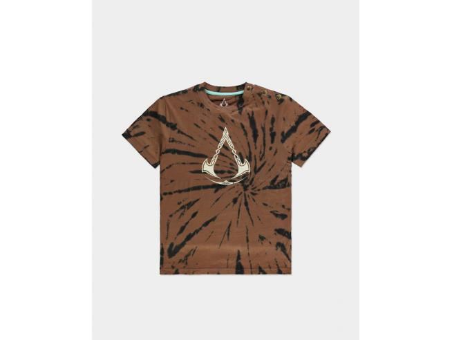 Assassin's Creed Valhalla - Woman's Tie Dye Printed T-shirt Difuzed