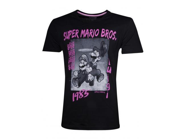Nintendo - Festival Bros T-shirt Uomo Difuzed