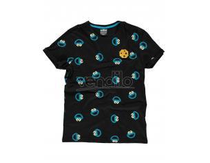 Sesamestreet - Cookie Monster AOP T-shirt Difuzed