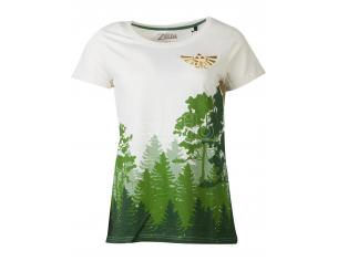 Zelda - The Woods T-shirt Donna Difuzed