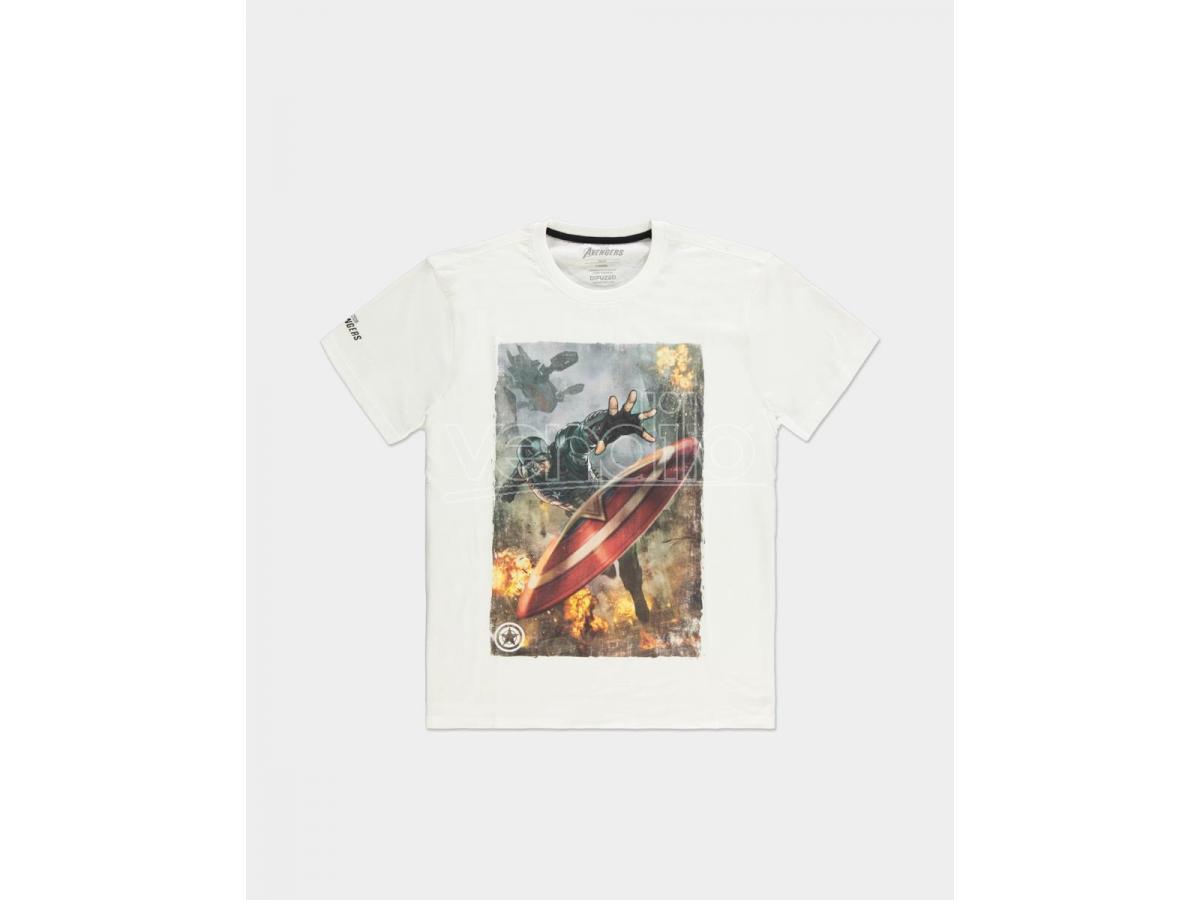 Avengers - Captain America - T-shirt Uomo Difuzed
