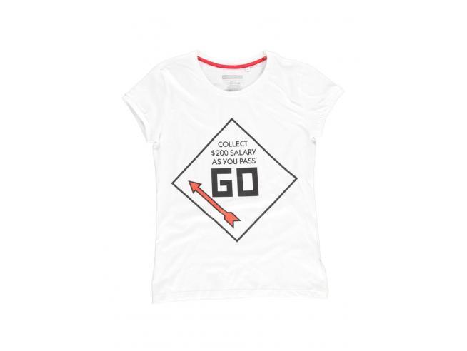 Hasbro - Monopoly - Go T-shirt Uomo Difuzed